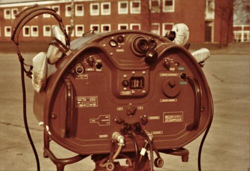 1973 A Esk 103 Verkbat Radarbak M113 Rasura en opgestelde rasura. Inz Koos Oosterhoff 3