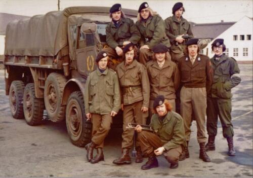 1973 A Esk 103 Verkbat Seedorf de pelotons van de lichting 72 6 Inz. Koos Oosterhoff 1