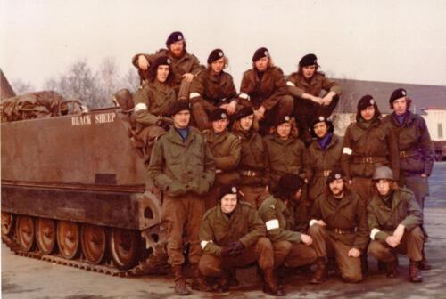 1973 A Esk 103 Verkbat Seedorf de pelotons van de lichting 72 6 Inz. Koos Oosterhoff 3