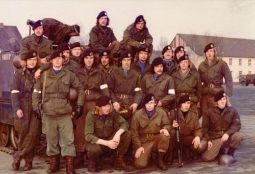 1973 A Esk 103 Verkbat Seedorf de pelotons van de lichting 72 6 Inz. Koos Oosterhoff 4