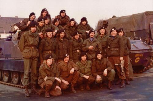 1973 A Esk 103 Verkbat Seedorf de pelotons van de lichting 72 6 O.a. Knt Timmer Inz. Koos Oosterhoff
