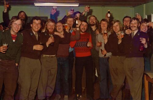 1973 A Esk Lipl 72 6 103 Verkbat Schietserie Bergen Hohne. Vertier na de schietdag Inz. Koos Oosterhoff 2
