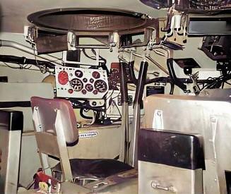 1973 B Esk 103 Verkbat Bestuurderscompartiment M113 CR Inz. Ad Hester