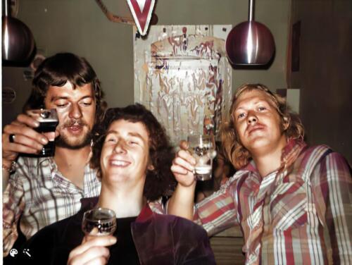1973 B Esk 103 Verkbat Esk bar met Ad Hester Jan van Vliet en Jenne Wierstra Inz. Ad Hester