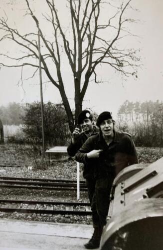 1973 B Esk 103 Verkbat Oef Hohe Klippe Inged bij AufklBat 3 Wmr I Gerard v Brussel met inz Hans van den Hoven