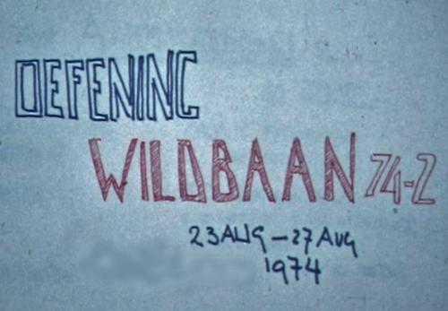 1974 08 23 tm 27 103 Verkbat Oef Wildbaan. 1 Inz. Ritm Lukas Maas