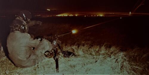 1974 09 A Esk 103 Verkbat Schietserie .50 lichtspoor Inz. Harry de Groot