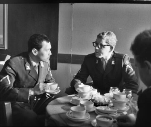 1966-1967 A-Esk 103 Verkbat; Het leven op de legeringskamers. Uit het fotoarchief van Jan Stoffels  (3)