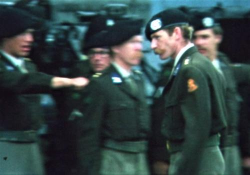 1975 06 103 Verkbat 3 Co overdracht Lkol Cavadino aan Valstar Inz. Ritm Lukas Maas