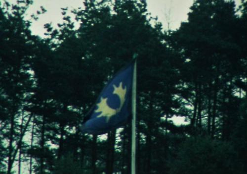 1975 06 103 Verkbat 35 Co overdracht Lkol Cavadino Valstar. 103 vlag Inz.Ritm Lukas Maas 36