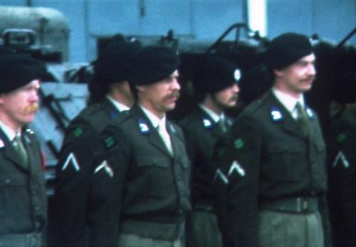 1975 06 103 Verkbat 4 Co overdracht Lkol Cavadino aan Valstar Inz. Ritm Lukas Maas