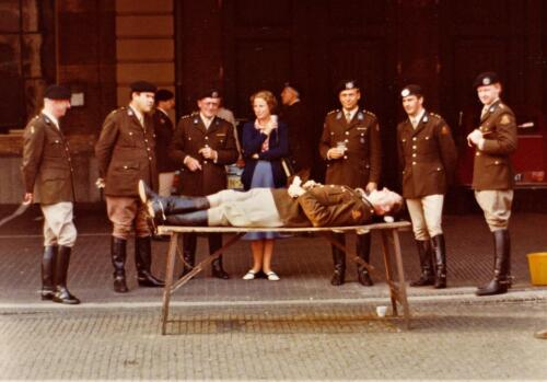 1975 Koninklijke stallen Li Aooi Rudolf Kolkert 3e Ritm Dijkstra Re Maarten de Sitter. Tafel Bern v notten Inz. Res. Ritm Lukas Maas