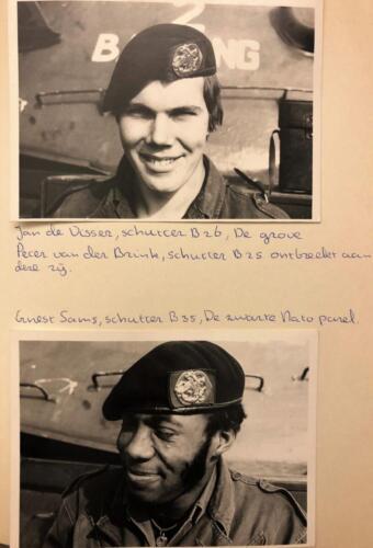 1976 1977 B esk 76 4 103 Verkbat Bemanning met nicknames .Inz . Egbert Jeeninga. 7