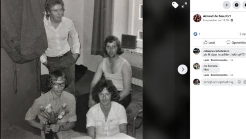 1976 A Esk 103 Verkbat Kamergenoten zie tekst. Inz. Arnhoud de Beaufort