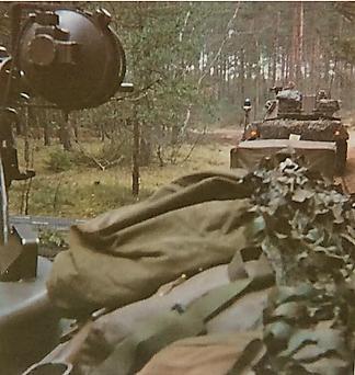 1976 A Esk 103 Verkbat Oef Wildbaan bij Lohne Inz. Arnhoud de Beaufort 10