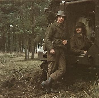 1976 A Esk 103 Verkbat Oef Wildbaan bij Lohne Inz. Arnhoud de Beaufort 12