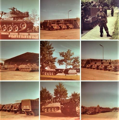 1976 A Esk 103 Verkbat Oef Wildbaan bij Lohne Inz. Arnhoud de Beaufort 15