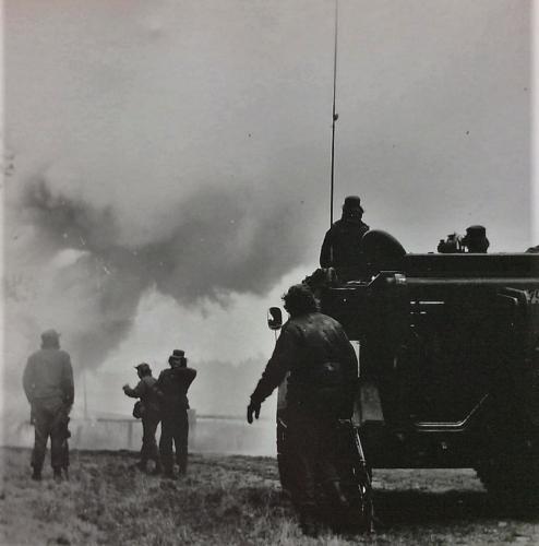 1976 A Esk 103 Verkbat Oef Wildbaan bij Lohne Inz. Arnhoud de Beaufort 17