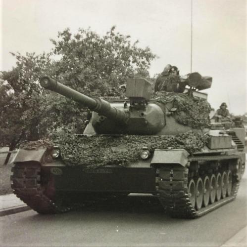 1976 A Esk 103 Verkbat Oef Wildbaan bij Lohne Inz. Arnhoud de Beaufort 6