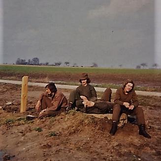 1976 A Esk 103 Verkbat Oef Wildbaan bij Lohne Inz. Arnhoud de Beaufort 8