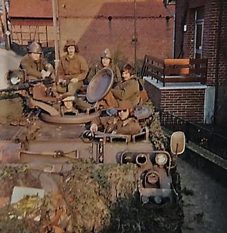 1976 A Esk 103 Verkbat Oef Wildbaan bij Lohne Inz. Arnhoud de Beaufort 9