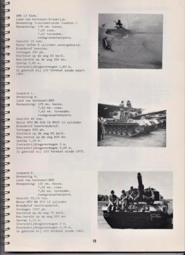 1986 'Contact, wacht uit'... Kroniek van 25 jaar 103 Verkenningsbataljon 19