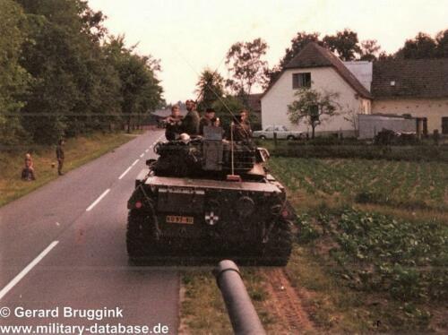1977 - 1978 A-Esk 103 Verkbat Actiefoto's tijdens oefening (9)