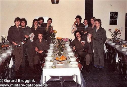 1977 - 1978 A-Esk 103 Verkbat Seedorf; Brandpikel en of Keukencorvee.