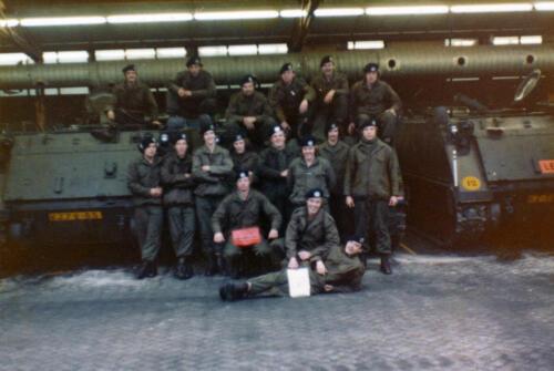 1977 A Esk 103 Verbat Li 77 5 Einde rijopleiding Bernhardkazerne. Inz. Henk Smeenge 2