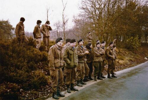 1977 A Esk 103 Verbat Wmrs li 77 5 in opleiding Bernhardkazerne Vlasakkers. Inz. Henk Smeenge