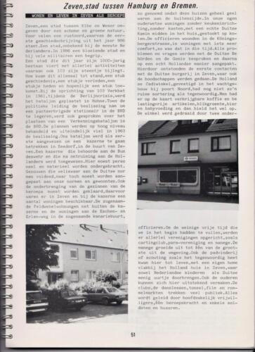 1986 'Contact, wacht uit'... Kroniek van 25 jaar 103 Verkenningsbataljon 51