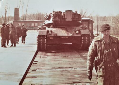1978 03 A Esk 103 Verkbat Oefening Entre Nous. Treinladen o.a. Wmr I Jongenelen Inz T Zoomers