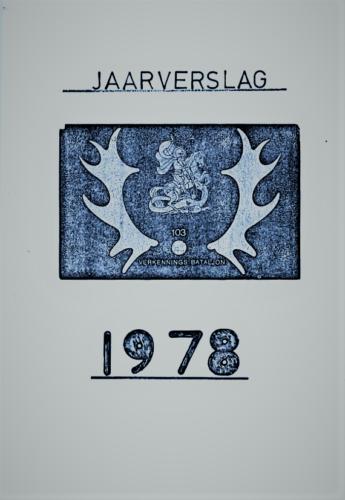 1978 103 Verkbat Jaarverslag 1978 opgemaakt door S1 Ritm Tom Zoomers 1