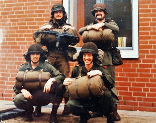 1978 1982 B Esk en 1982 1985 A Esk waaronder ook T. Langejans 103 Verkbat. Inz. Marius Siepman 6