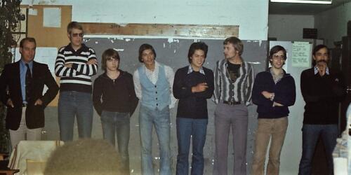 1978 SSV ESk 103 Verkbat. Links de BC Lkol van Lingen en re C SSV Ritm Nix
