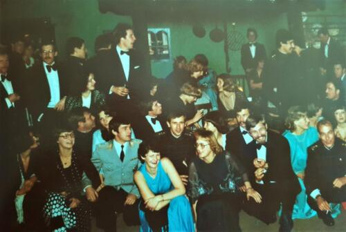 1978 103 Verkbat Trakehnerbal Selsingen; O.a. Hetty en Tom Zoomers, Attema, PdlW, v Lingen, G Eleveld, Meeder, Bogmans