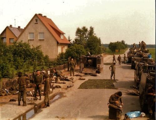 1979 07 14 A Esk 103 Verkbat Oefening Wildbaan. Fotoalbum Hans Kuijpers. 7