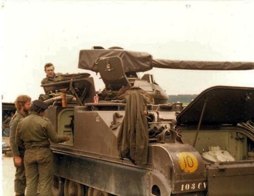 1979 07 14 A Esk 103 Verkbat Oefening Wildbaan. Fotoalbum Hans Kuijpers. 8
