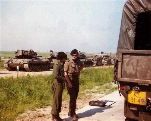 1979 07 14 A Esk 103 Verkbat Oefening Wildbaan. Ritm Visser Fotoalbum Hans Kuijpers.