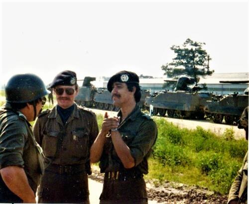 1979 07 14 A Esk 103 Verkbat Oefening Wildbaan. Ritm Vissre Elnt PdlW en Wmr I Willemse