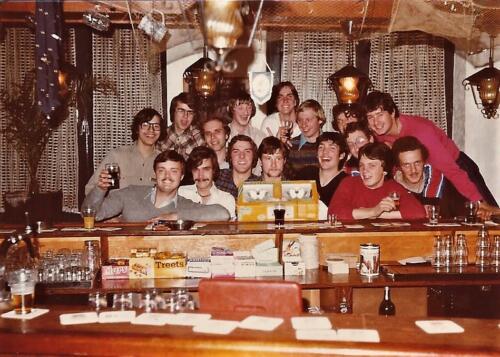 1979 1980 A Esk 103 Verkbat. 13. Barbezoek niet die van het A Esk Midden voor Wmr I Kees Dekkers Inz. Peter van der Spek