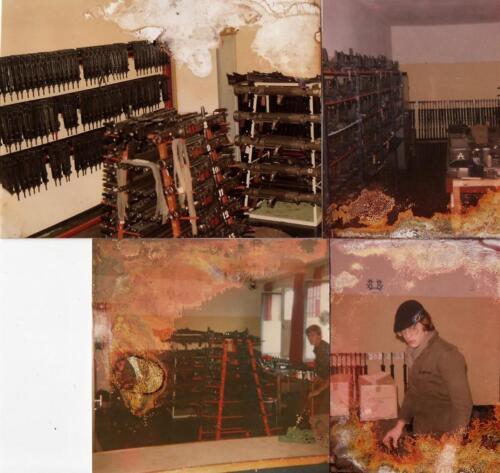 1979 1980 SSV Esk 103 Verkbat Geen uitgebrande wapenkamer gewoon wat vergane fotos Inz. Cor Heeremans