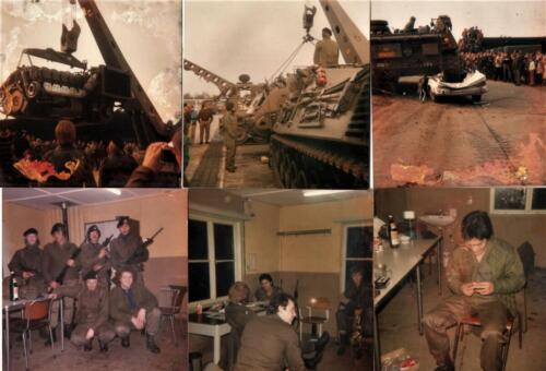 1979 1980 SSV Esk 103 Verkbat Vele gezichten o.a. Sgt I Han Peperkamp. Inz. Cor Heeremans 1