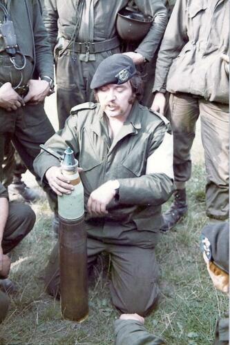 1979 A Esk 103 Verbat Wmr I Piet Ellens als mortier instructeur.