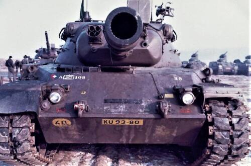 1979 A Esk 103 Verkbat Schietserie. Foto Peter Stuurman 2