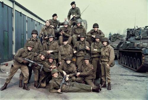 1979 A esk 1e pel 103 Verkbat Pelotonsfoto. Foto Peter Stuurman