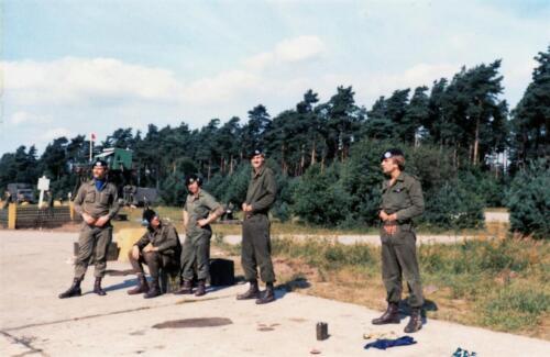 1979 B Esk 103 Verkbat Schietserie Hohne Mooi werk