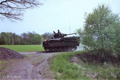 1986-05 B-Esk 103 Verkbat; FTX Oefening Galerie Freese Holtum-Marsch. Hoya-Asendorf (12)