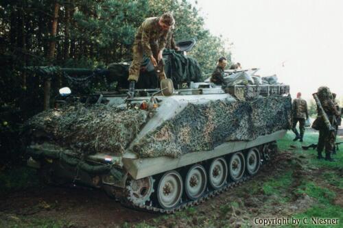 1998 103 Verkbat met Aufklärungsbataillon 3 uit Lüneburg; Oef Recce Alone Omgeving Celle (Inzender C Niesner) (18)