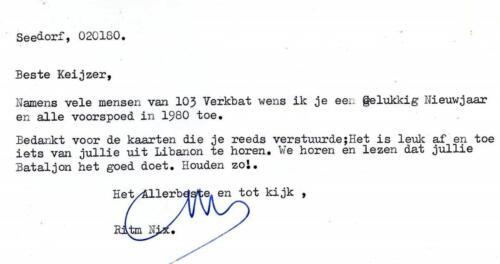 1980 01 02 103 Verkbat De S1 de Ritmeester HAG Nix onderhoudt de contacten 2